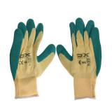 دستکش ایمنی او ایکس مدل 2241 سایز XL رنگ سبز کرم