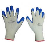 دستکش ایمنی سلام سایز 10 اینچ رنگ آبی کرم