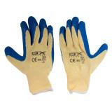 دستکش ایمنی ضد برش او ایکس سایز XL رنگ آبی کرم
