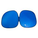 آفتابگیر عینکی خودرو مدل دو تکه متصل رنگ آبی