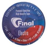 چسب برق فاینال مدل الکترو رنگ آبی