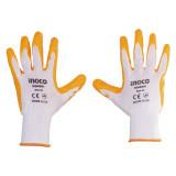 دستکش کف مواد نیتریل اینکو مدل HGNG01 سایز XL