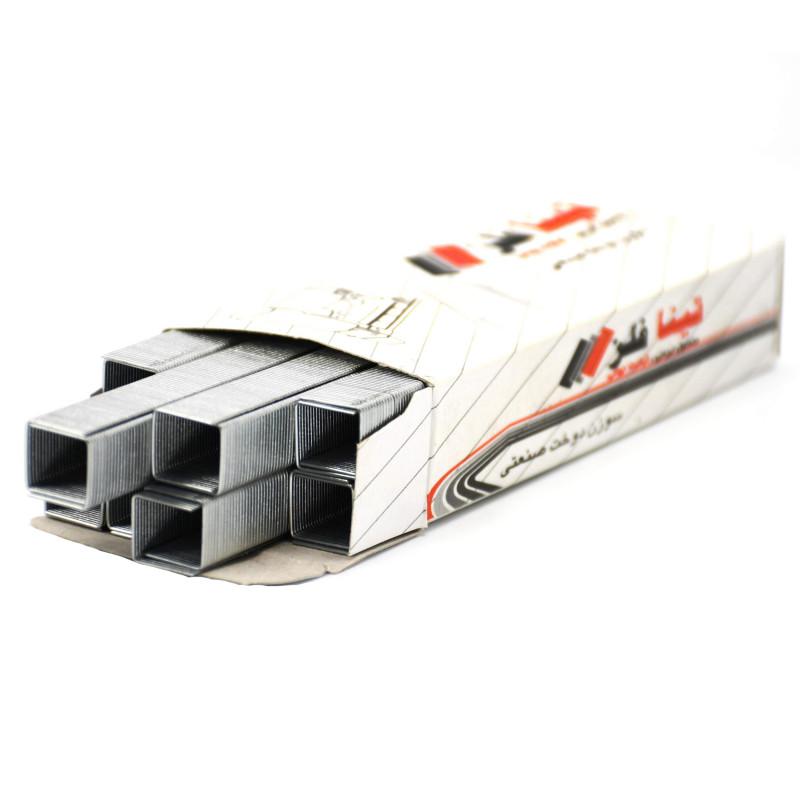 سوزن منگنه تینا فلز سایز 530/12 بسته 2400 عددی