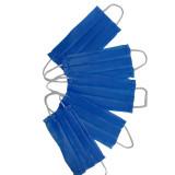ماسک دو لایه ایرانی آبی بسته 5 عددی
