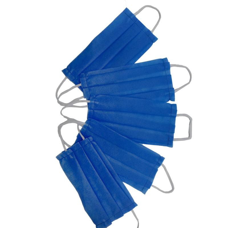 ماسک دو لایه ایرانی آبی بسته 10 عددی