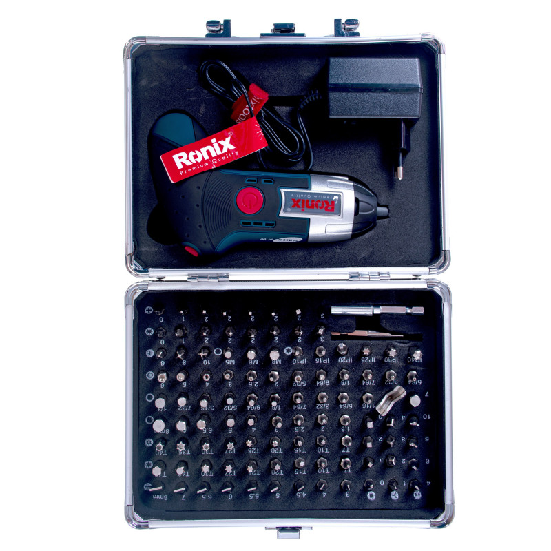 پیچ گوشتی شارژی مشتی 3.6 ولت رونیکس مدل 8500