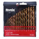 مجموعه 19 عددی مته آهن رونیکس مدل RH-5581