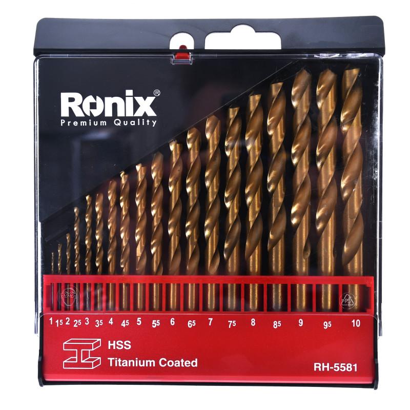 مجموعه 19 عددی مته رونیکس مدل RH-5581