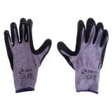 دستکش ایمنی زیگورات مدل H1101 رنگ مشکی بنفش