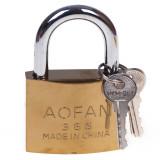 قفل آویز برنجی آئوفان سایز 63 میلی متر
